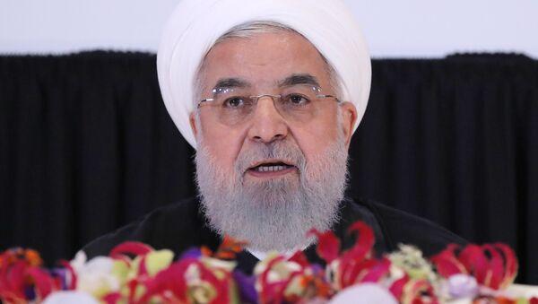 İran Cumhurbaşkanı Hasan Ruhani - Sputnik Türkiye