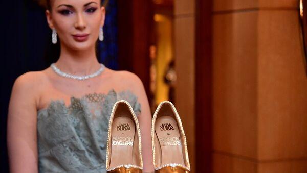 Dünyanın en pahalı ayakkabısı: The Passion Diamond - Sputnik Türkiye