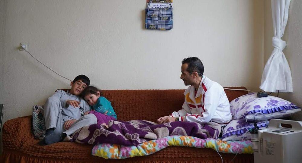 Kot taşlama işçisi Ramazan Aydar