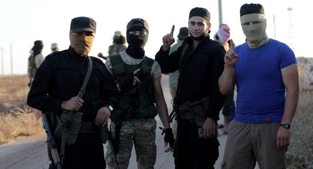 Fua ve Kefriya köylerinin çevresindeki Nusra (Heyet Tahrir el Şam) militanları