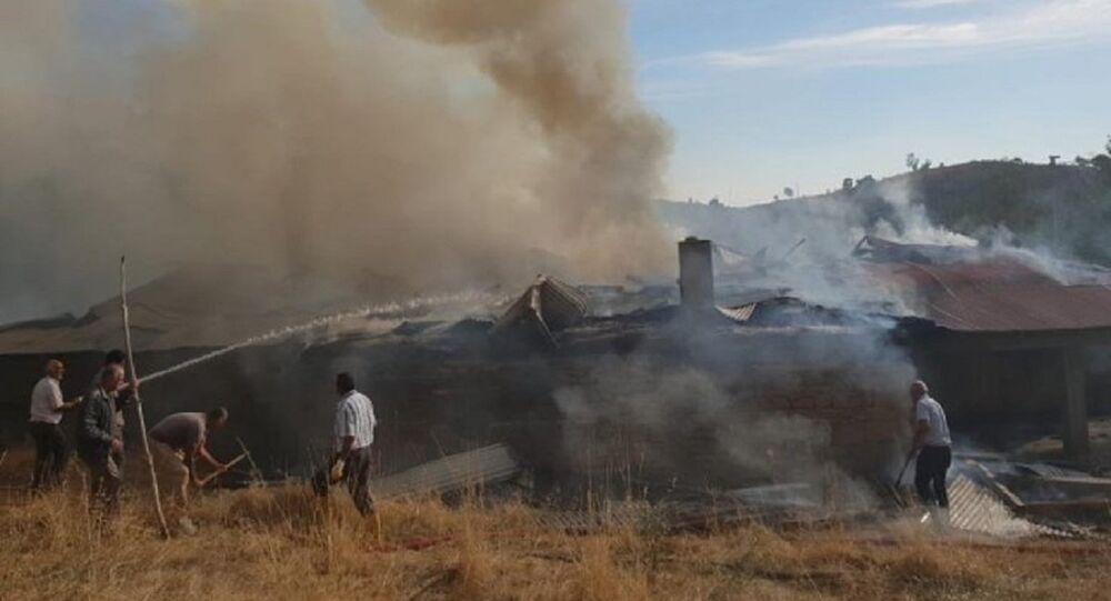Kemal Kılıçdaroğlu'nun doğduğu evde yangın