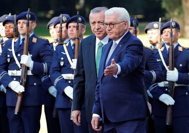 Recep Tayyip Erdoğan-Frank-Walter Steinmeier