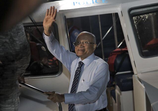 Maldivler eski Devlet Başkanı Mamun Abdül Gayyum