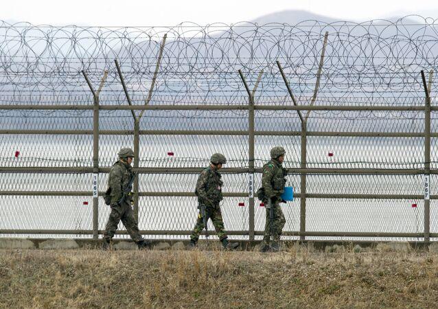 Güney Kore-Kuzey Kore sınırı