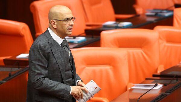 CHP İstanbul Milletvekili Enis Berberoğlu, Genel Kurul'a gelerek yemin etti.  - Sputnik Türkiye