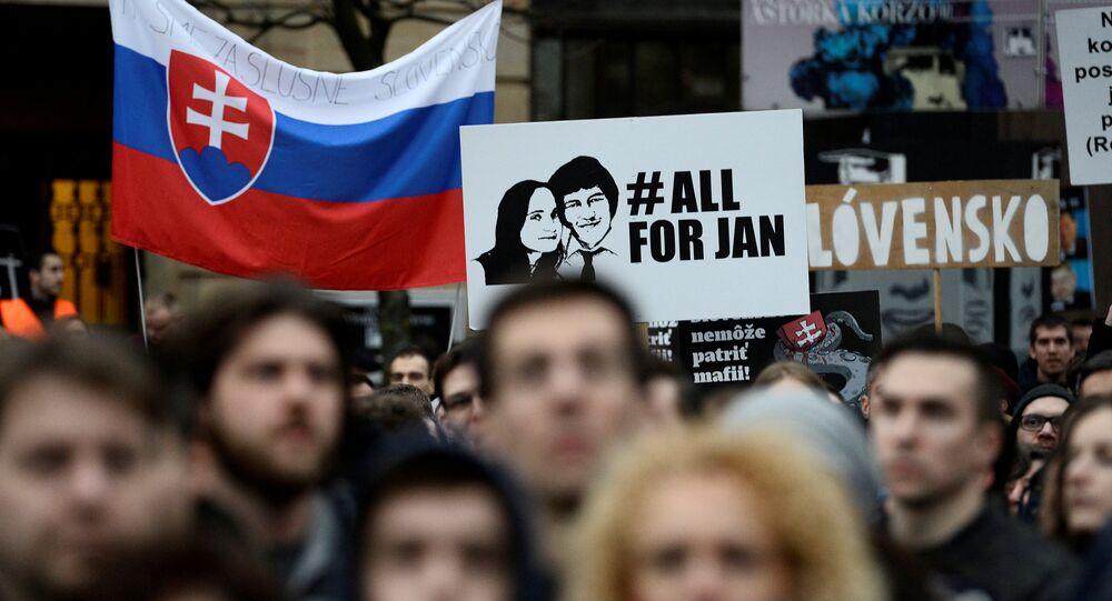 Öldürülen gazeteci Jan Kuciak ve nişanlısı Martina Kusnirova