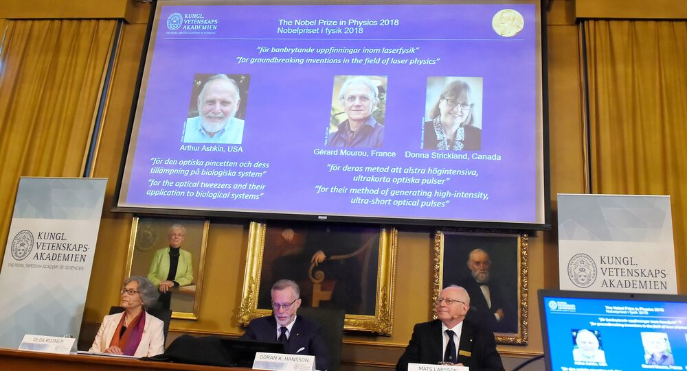 2018 Nobel Fizik Ödülü sahiplerini buldu