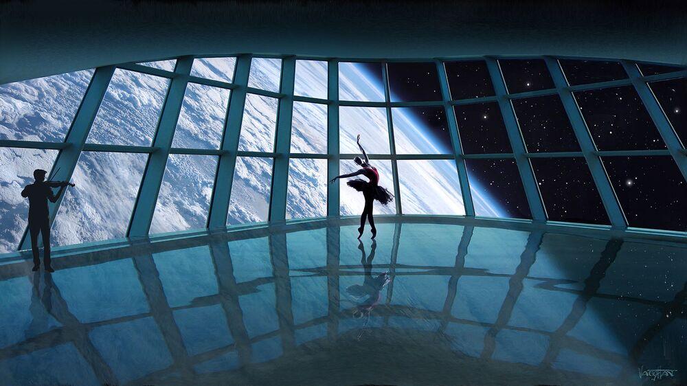 uzay ülkesi Asgardia'nın konsepti