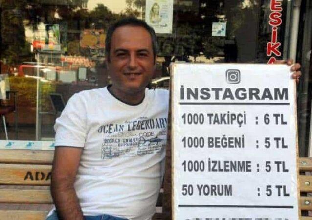 Adana'da bir girişimci sokakta takipçi ve beğeni satıyor