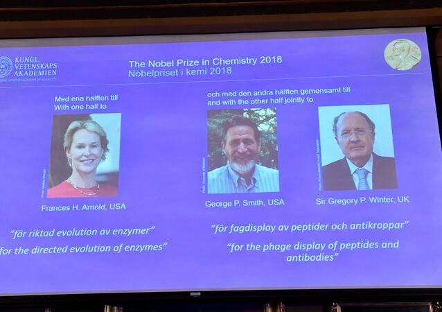 Nobel Kimya Ödülü sahipleri