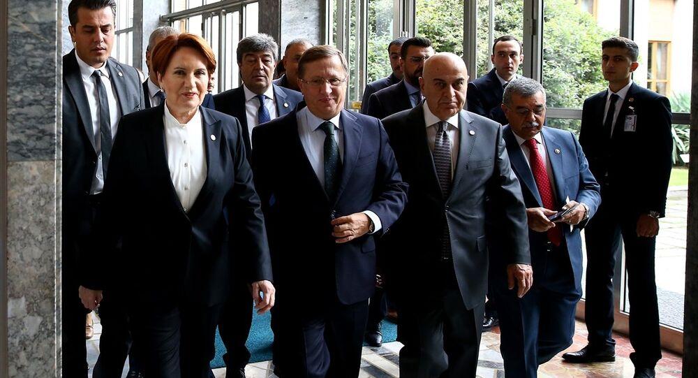 İYİ Parti Genel Başkanı Meral Akşener