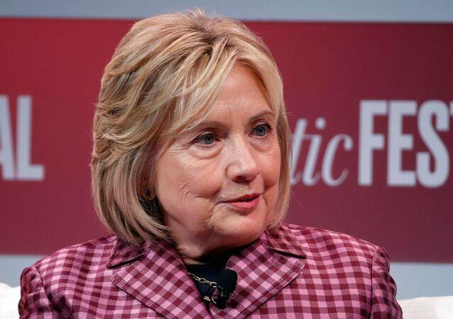 Hillary Clinton, Washington'daki 'Atlantic Festival'de Atlantic Genel Yayın Yönetmeni Jeffrey Goldberg'in sorularını yanıtladı.