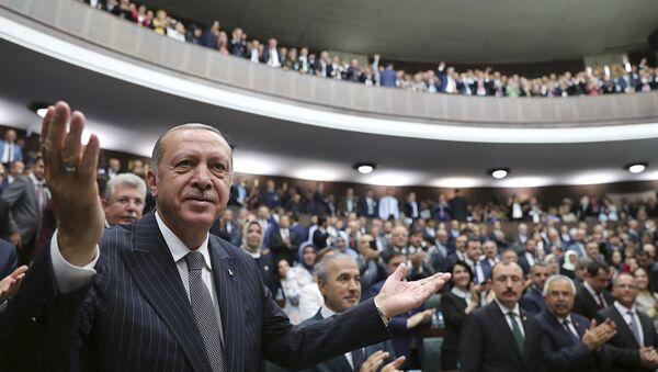 Recep Tayyip Erdoğan - AK Parti - Meclis - grup - Sputnik Türkiye