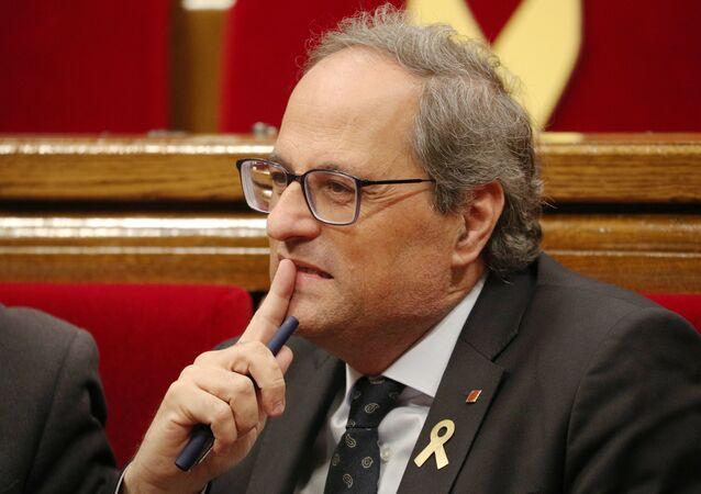 Katalonya Özerk Yönetimi Başkanı Quim Torra
