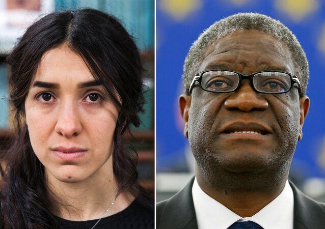 Nadia Murad ve Denis Mukwege