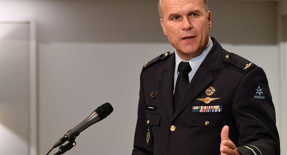 General Onno Eichelsheim, Hollanda Savunma İstihbarat ve Güvenlik Servisi Direktörü