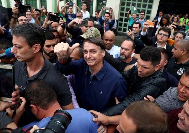 Aşırı sağcı 'Brezilyalı Trump' olarak adlandırılan aday Jair Bolsonaro