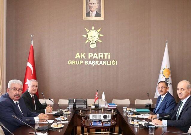 AK Parti - MHP ittifak görüşmeleri