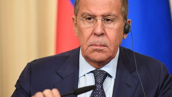 Rusya Dışişleri Bakanı Sergey Lavrov - Sputnik Türkiye