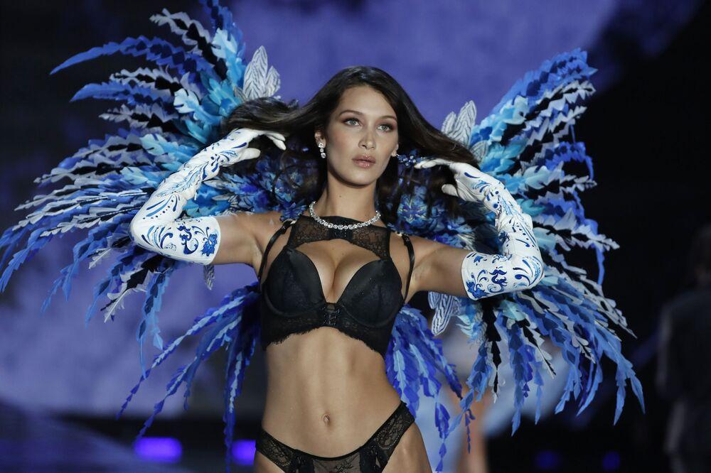 Filistin asıllı ABD'li model Bella Hadid
