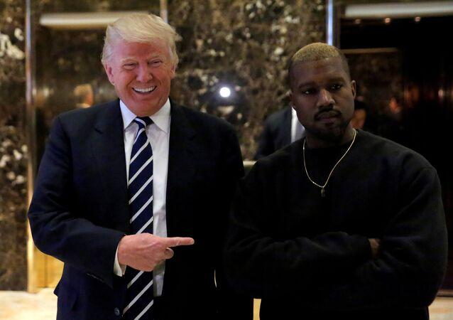 ABD Başkanı Donald Trump-ABD'li rapçi Kanye West