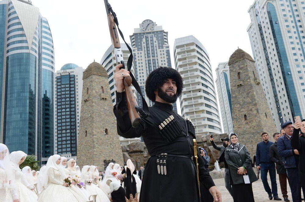Grozni'nin 200. yıldönümü kutlamaları