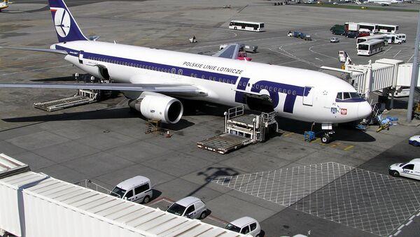 Samolot Boeing 767 PLL LOT - Sputnik Türkiye