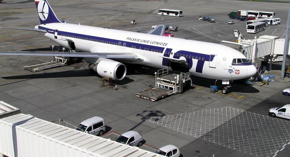 Samolot Boeing 767 PLL LOT