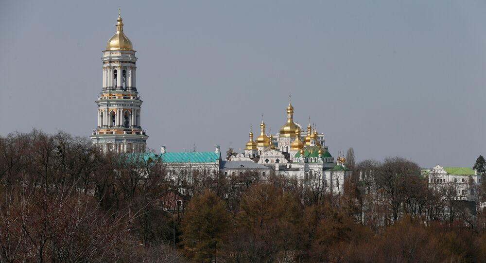 Ukrayna'nın başkenti Kiev'deki Pechersk Lavra Manastırı
