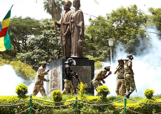 Etiyopya askerleri