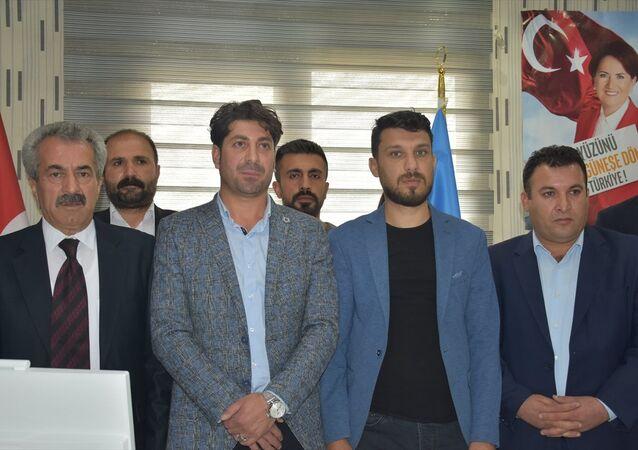 İYİ Parti Şırnak ilçe yönetimi istifa