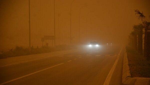 Şanlıurfa'da toz bulutu - Sputnik Türkiye