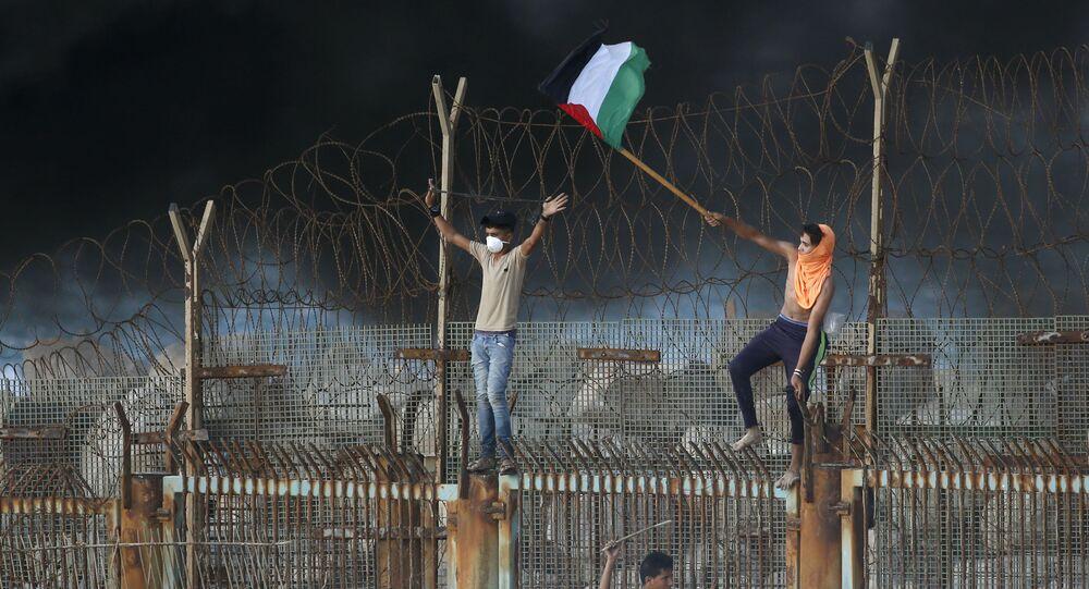 Gazze Şeridi ile İsrail arasındaki sınırı