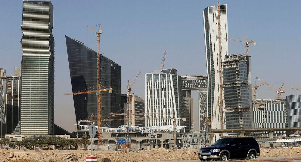 Suudi başkenti Riyad'ın Kral Abdullah Finans Bölgesi
