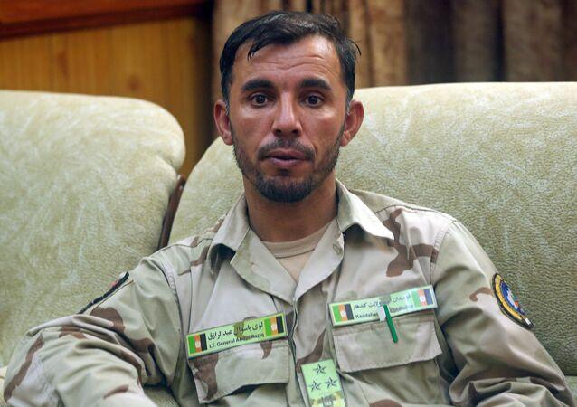 Afganistan - Kandahar Emniyet Müdürü General Abdul Razık Açikzey