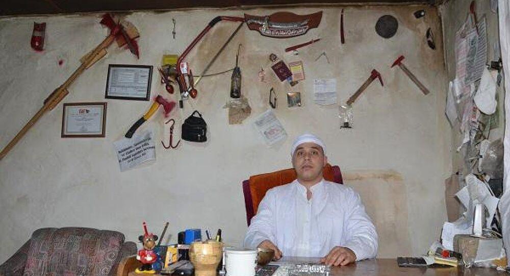 'Aydınlı cinci hoca' olarak bilinen Mehmet Pala (36)