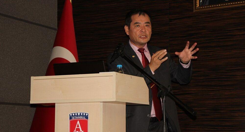 Japonya Yurtdışı İnşaat Şirketleri Derneği Genel Sekreteri, yüksek mimar ve yüksek mühendis Yoshinori Moriwaki