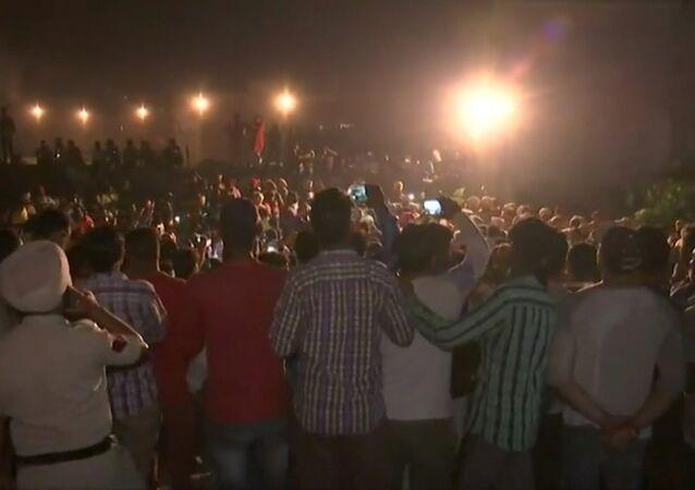 Hindistan'da yaşanan tren kazası