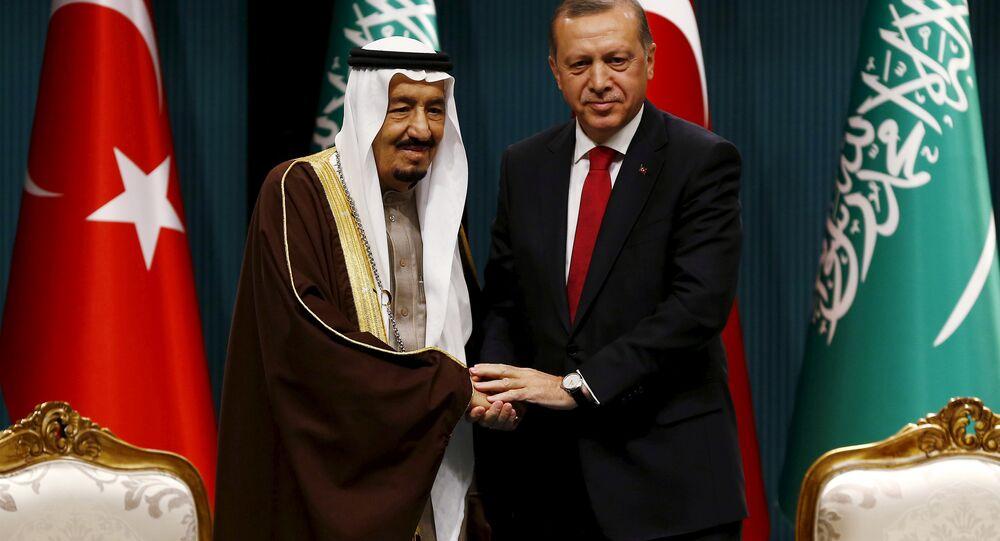 Suudi Kralı Selman ile Cumhurbaşkanı Erdoğan