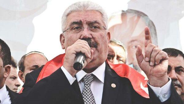 MHP Genel Başkan Yardımcısı Semih Yalçın - Sputnik Türkiye