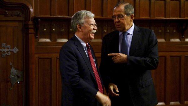Moskova'da Bolton-Lavrov görüşmesi - Sputnik Türkiye