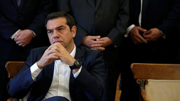 Yunanistan Başbakanı ve Dışişleri Bakanı Aleksis Çipras - Sputnik Türkiye