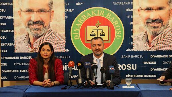 Diyarbakır Barosu Başkanı Cihan Aydın - Sputnik Türkiye