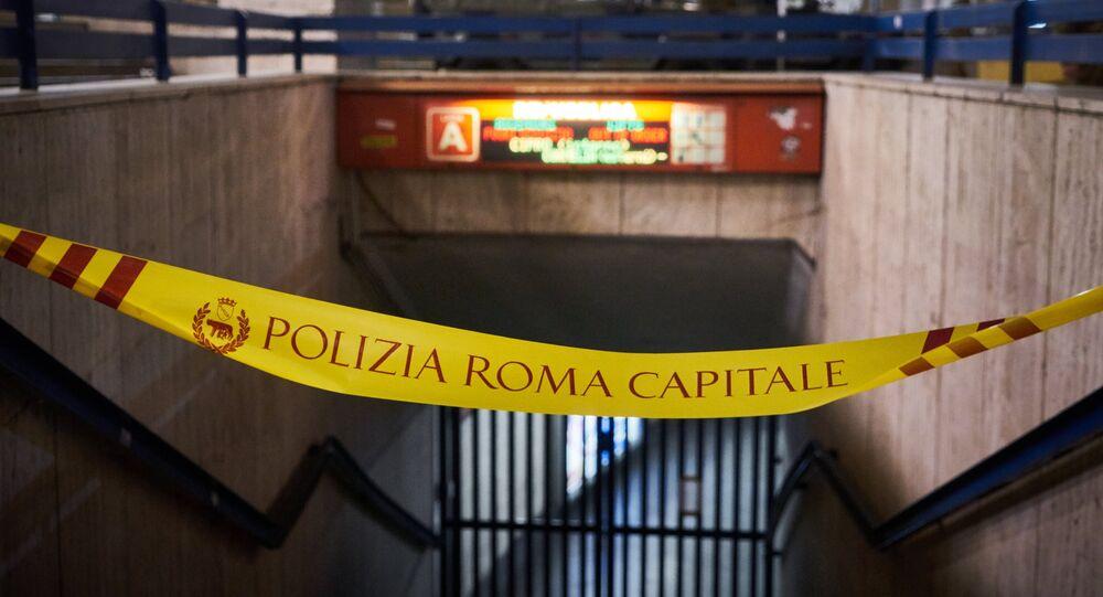 CSKA ile AS Roma arasında oynanacak maç öncesinede yaşanan yürüyen merdiven kazası