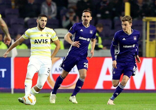 Anderlecht ile Fenrbahçe arasında oynanan UEFA Avrupa Ligi maçı