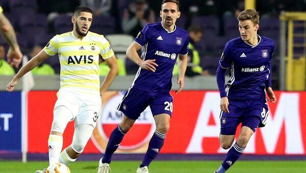Anderlecht ile Fenrbahçe arasında oynanan UEFA Avrupa Ligi maçı - Sputnik Türkiye