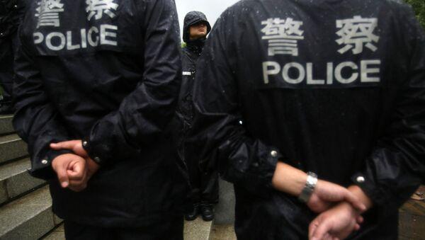 Çin polisi - Sputnik Türkiye