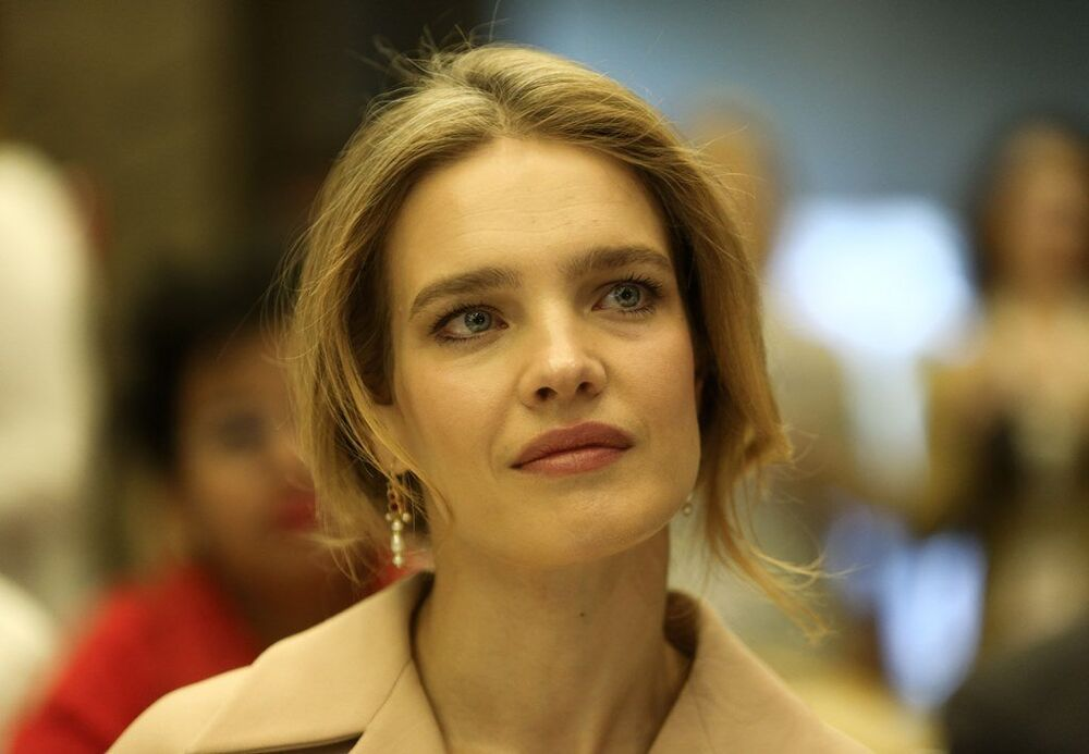 Rus süper model Natalya Vodyanova