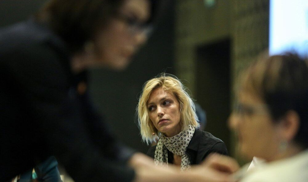 Aktivist model Anja Rubik