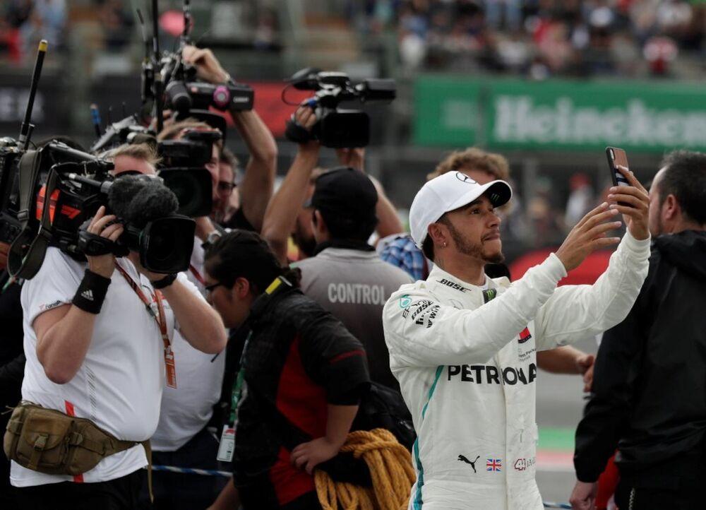 Mexican Grand Prix - Mercedes pilotu Lewis Hamilton